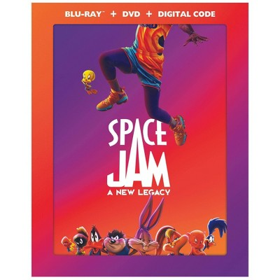 Space Jam: A New Legacy (Target Exclusive)(Blu-ray + DVD + Digital)