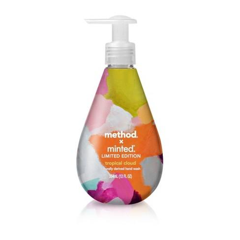 Method x Minted Limited Edition Gel Hand Wash - Tropical Cloud - 12 fl oz - image 1 of 3