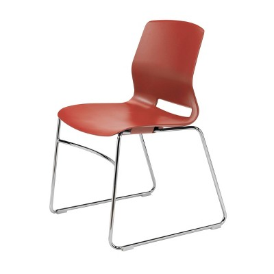 Lola Sled Base Office Stack Chair - Olio Designs