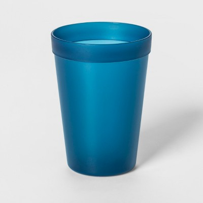 13.5oz Plastic Kids Tall Tumbler Blue - Pillowfort™