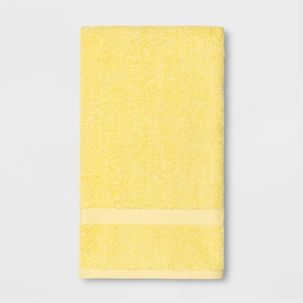Image of Bath Towel Yellow - Room Essentials