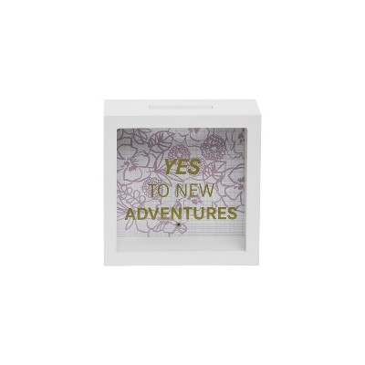 Adult Wooden Travel Themed Piggy Banks - Foreside Home & Garden