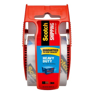 Scotch Heavy Duty Shipping Tape with Dispenser