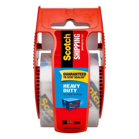 Scotch Heavy Duty Shipping Tape with Dispenser - image 1 of 4