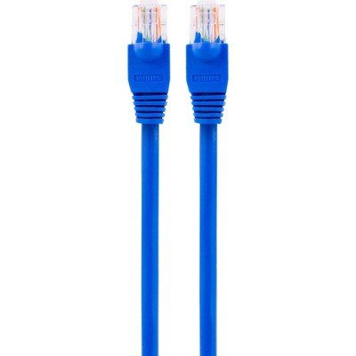 Philips Elite Cat6 Streaming Internet Cable, 14ft Ethernet - Blue