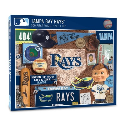 MLB Tampa Bay Rays 500pcs Throwback Puzzle