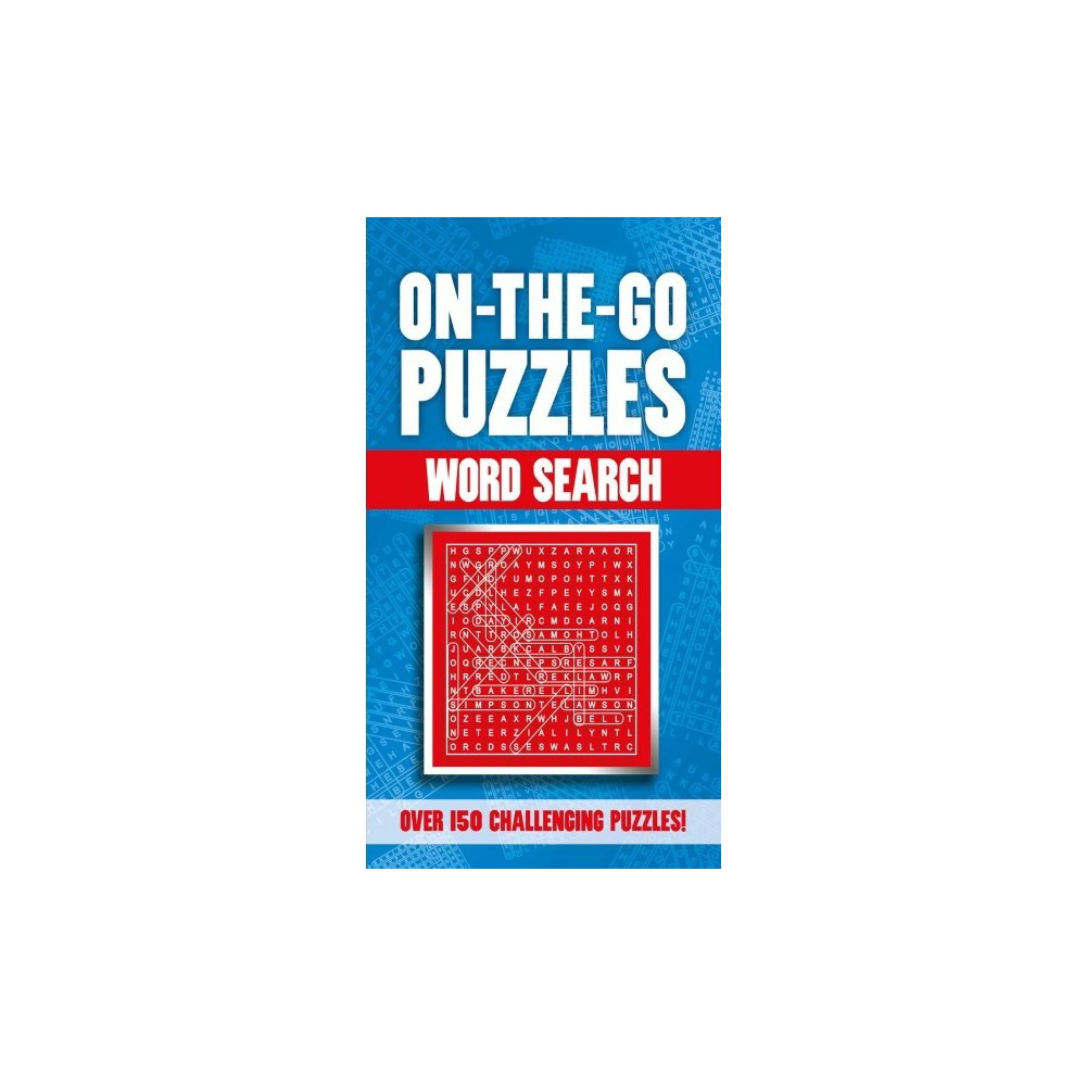 On-the-Go Puzzles Word Search - (Paperback)