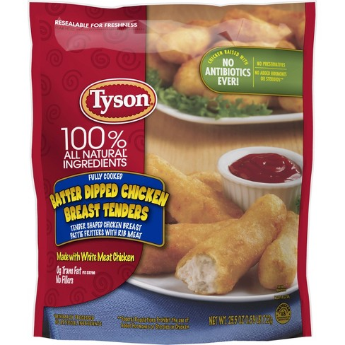 Tyson® Batter Dipped Chicken Breast Tenders -25.5oz - image 1 of 2