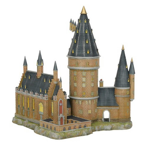 Department 56 - Harry Potter Village - Hogwarts Great Hall & Tower Lighted Building, 13.07-inches - image 1 of 3