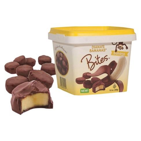 Diana's Bananas Chocolate Covered Frozen Banana Bites - 9.5oz - image 1 of 3