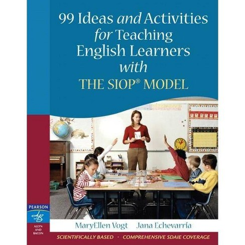 99 Ideas and Activities for Teaching English Learners with the Siop Model - (Paperback) - image 1 of 1