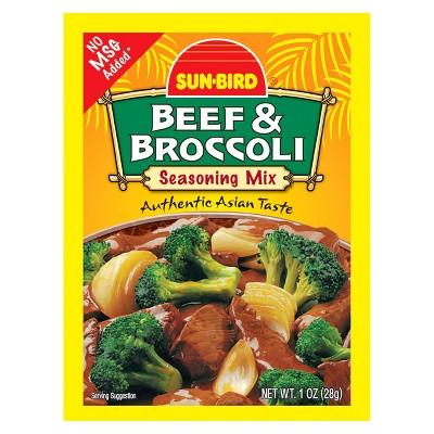 Sun Bird Beef and Broccoli Seasoning Mix 1oz