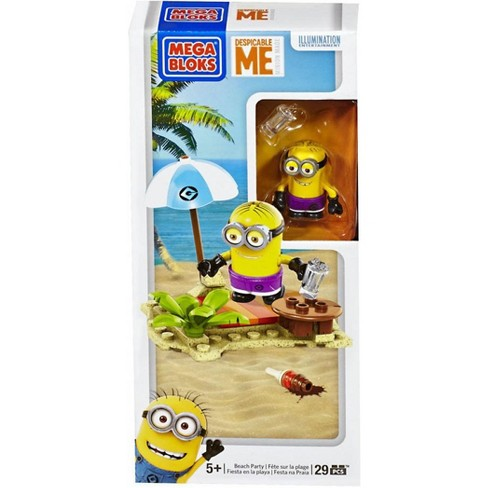 Mega Bloks Despicable Me Minion Made Beach Party Set #94808 - image 1 of 4