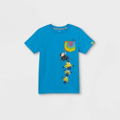 Boys' Universal Minions Short Sleeve T-Shirt - Blue
