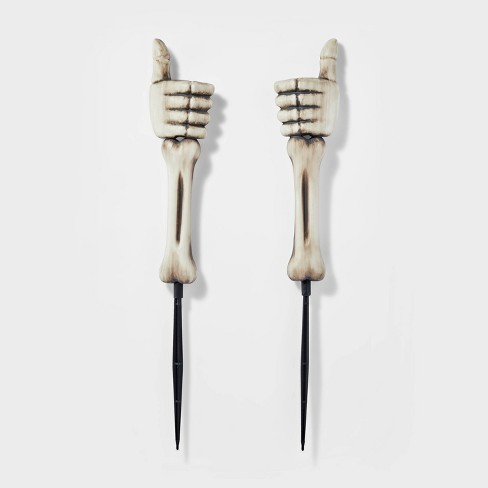 Yard Stake Skeleton Hands Halloween Decorative Holiday Scene Prop - Hyde & EEK! Boutique™ - image 1 of 3