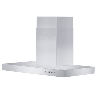 ZLINE KE-30 Stainless Steel 30 Inch Wall Range Hood with 4 Speed Settings and Built In LED Lighting for 8 to 9 Foot Ceilings