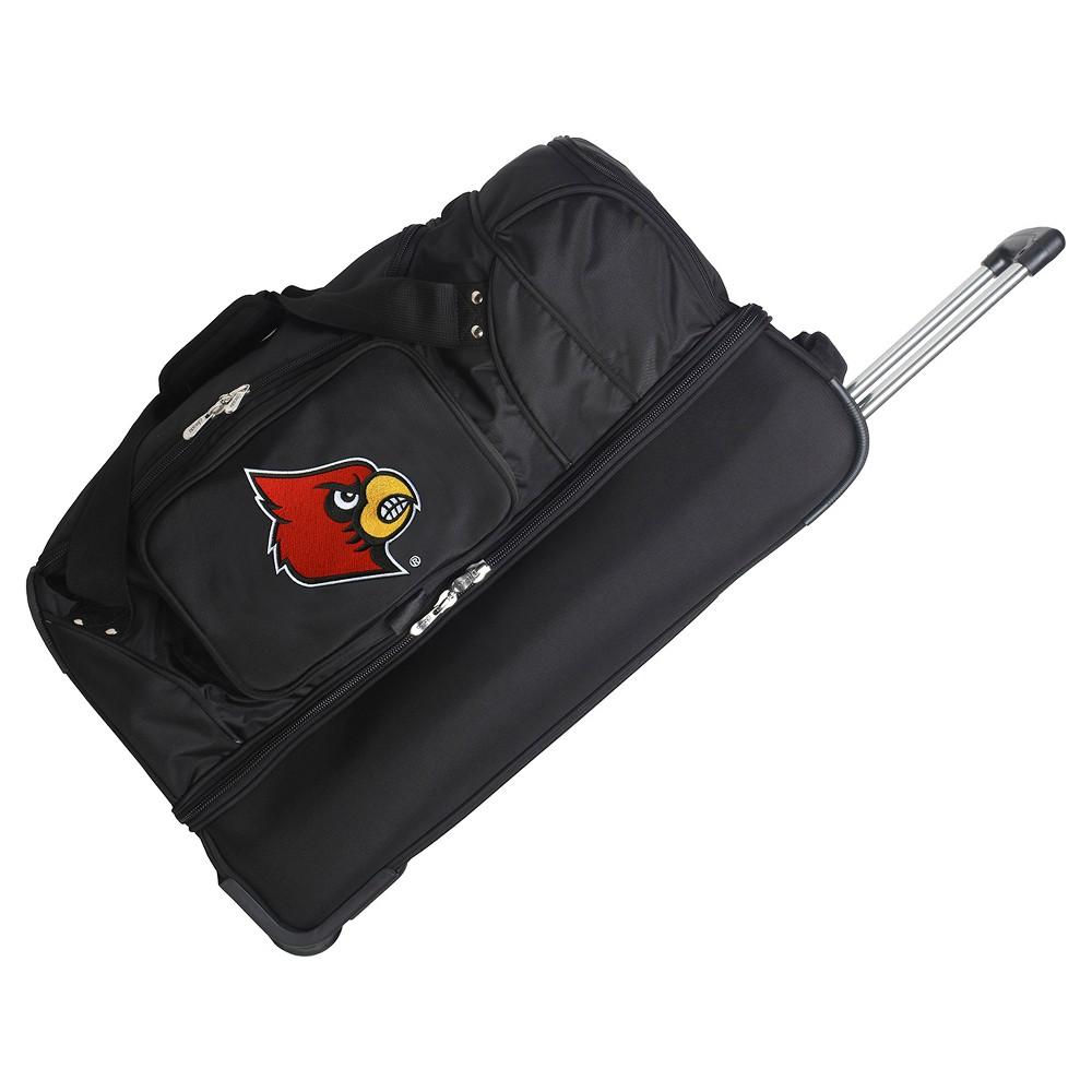 NCAA Louisville Cardinals 27'' Rolling Drop Bottom Duffel Bag