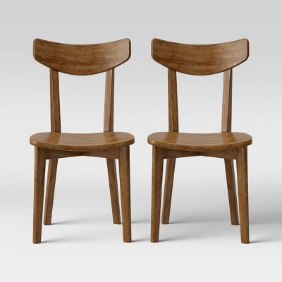 2pk Astrid Mid-Century Dining Chairs - Project 62™