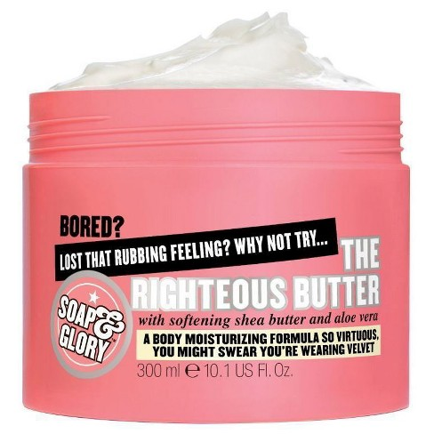 Soap & Glory The Righteous Butter Body Butter - 10.1oz - image 1 of 3