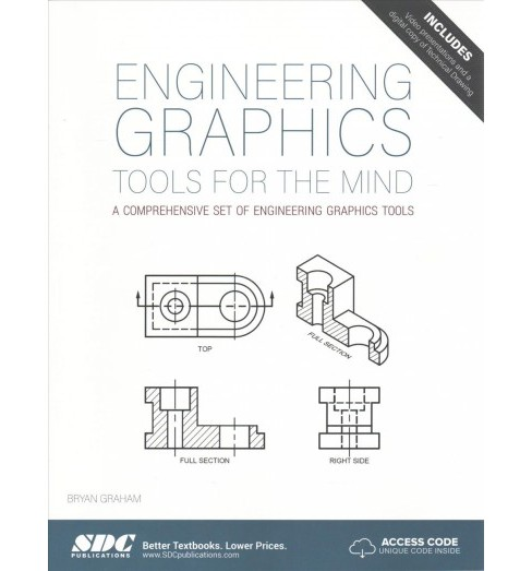 Engineering Graphics Tools for the Mind (Paperback) (Bryan Graham) - image 1 of 1