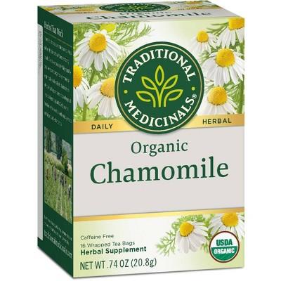 Traditional Medicinals Organic Chamomile Herbal Tea - 16ct