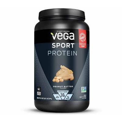 Vega Sport Protein Powder - Peanut Butter - 21.1oz
