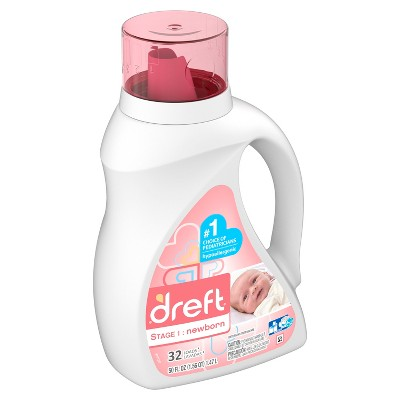 Dreft Stage 1: Newborn Liquid Laundry Detergent - 50 fl oz