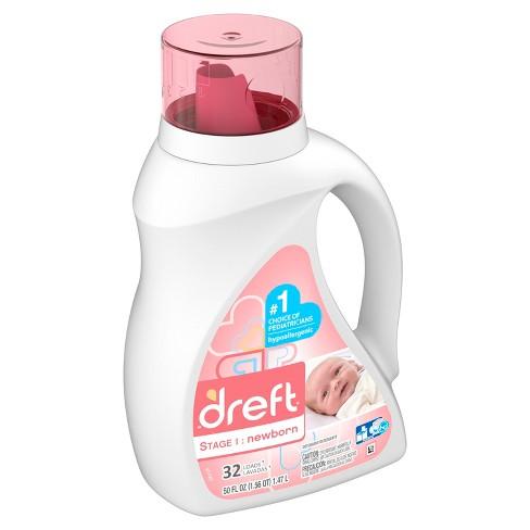 Dreft Stage 1: Newborn Liquid Laundry Detergent - image 1 of 3