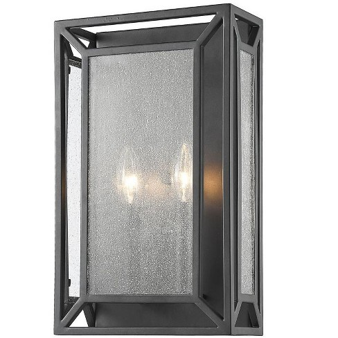 "Z-Lite 6005-2S Braum 2 Light 15"" High Wall Sconce - image 1 of 1"
