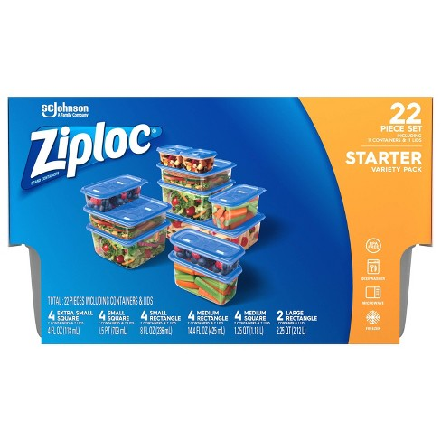 Ziploc Starter Variety Pack Containers - 11ct - image 1 of 4