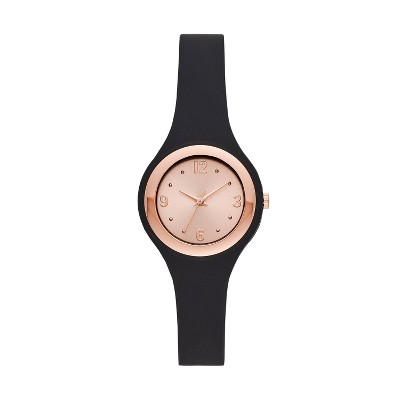 Women's Rubber Unibody Strap Watch - A New Day™