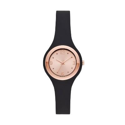 Women's Rubber Unibody Strap Watch - A New Day™
