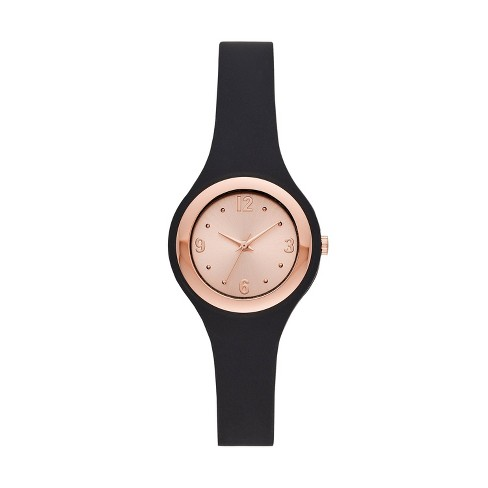 Women's Rubber Unibody Strap Watch - A New Day™ - image 1 of 1