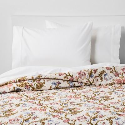 King Jacobean Floral Quilt - Threshold™