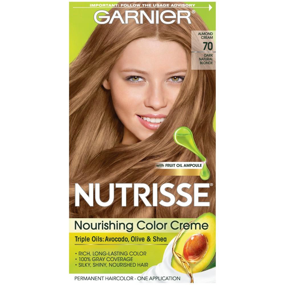 Garnier Nutrisse Nourishing Color Creme 70 Dark Natural Blonde