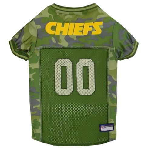 NFL Pets First Camo Pet Football Jersey - Kansas City Chiefs   Target 096915137