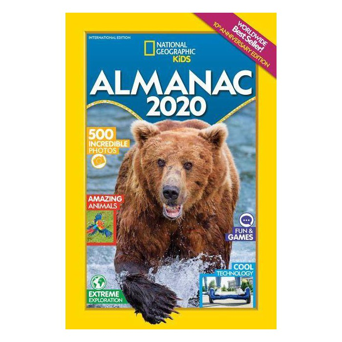 National Geographic Kids Almanac 2020 -  (Paperback) - image 1 of 1