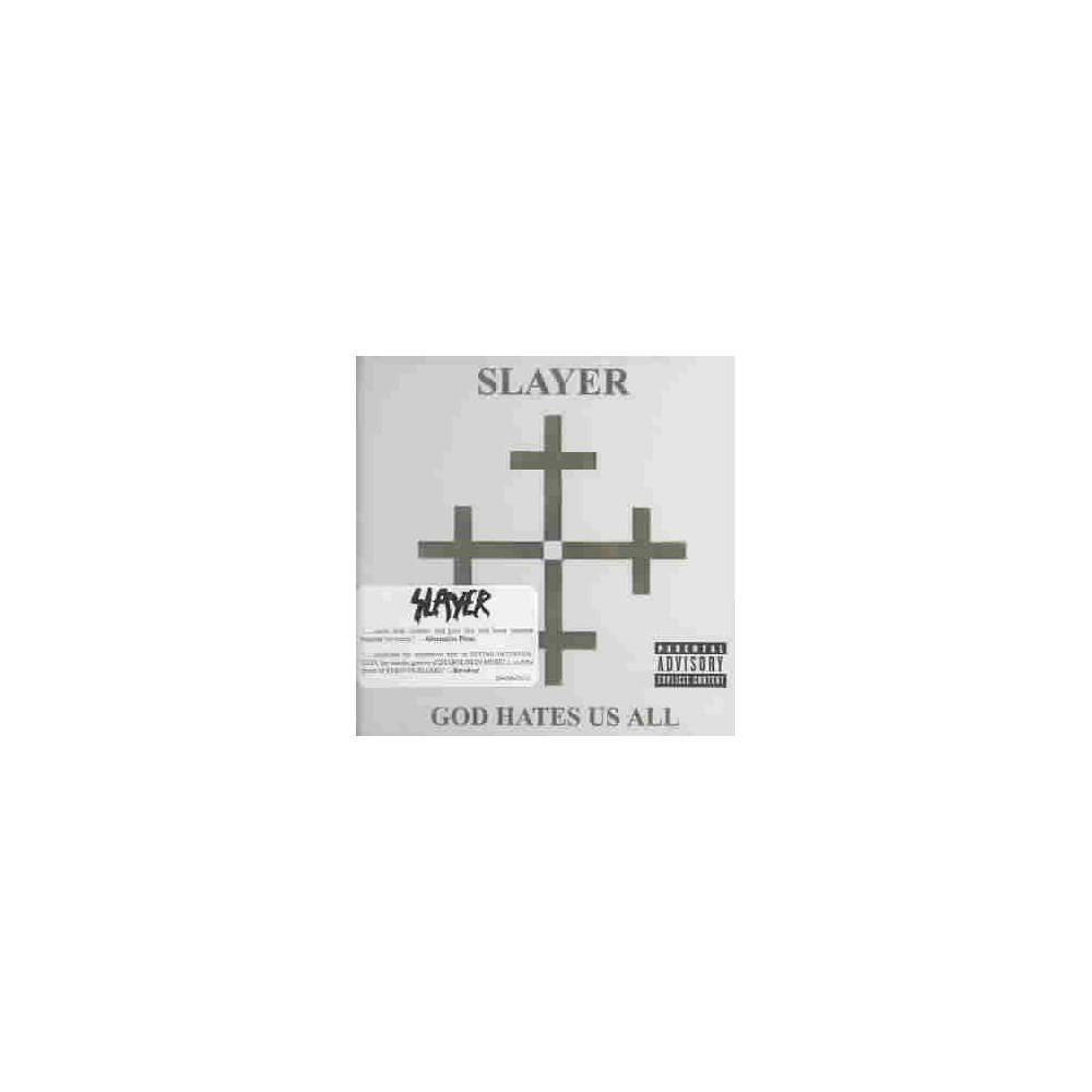 Slayer God Hates Us All Explicit Lyrics Cd