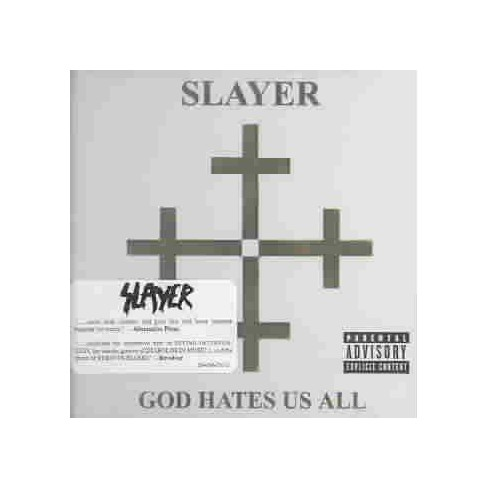 Slayer - God Hates Us All (CD) - image 1 of 3