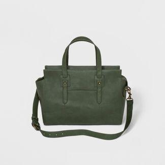 Carter Satchel Handbag - Universal Thread™ Green Olive