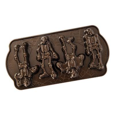 Nordic Ware Spooky Skeleton Cakelets Pan