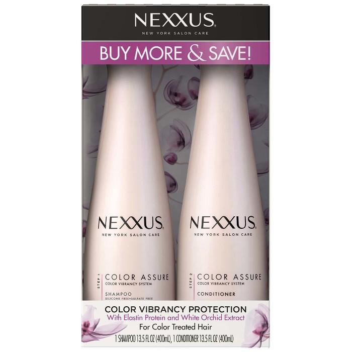 Nexxus Color Assure Shampoo + Conditioner Twin Pack - 13.5 Fl Oz - 2ct : Target