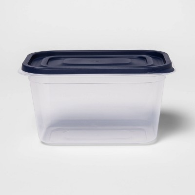 Press Lid Plastic Food Storage Container 7 cup - Made By Design™