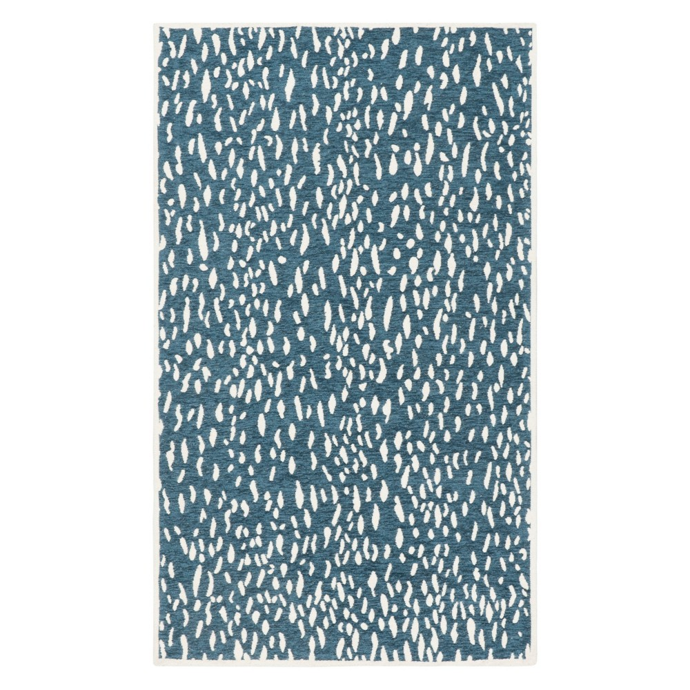 2'3X4' Fleck Accent Rug Blue/Ivory - Safavieh