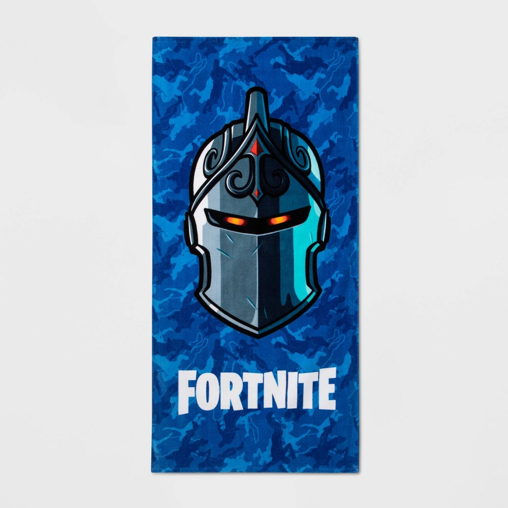 Image of Fortnite Black Knight Beach Towel Blue - Epic Games