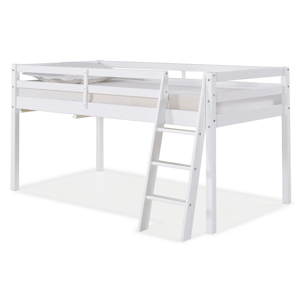 Roxy Twin Junior Loft Bed White - Bolton Furniture