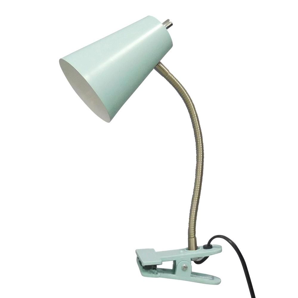 Clip Lamp Aqua (Blue) Lamp Only - Room Essentials