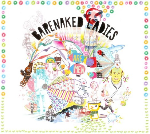 Barenaked ladies - Barenaked ladies are men (CD) - image 1 of 1