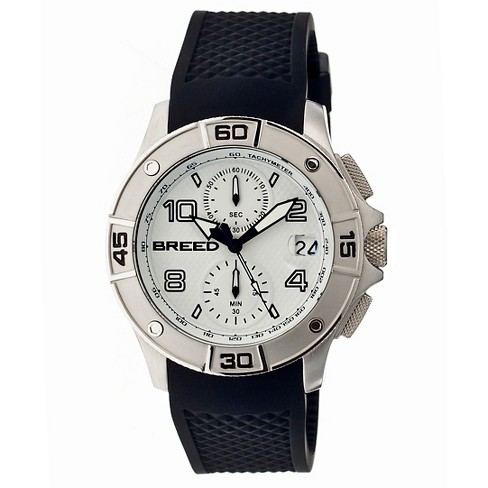 Men's Breed Raylan Watch with Patterned Silicone Strap - image 1 of 3