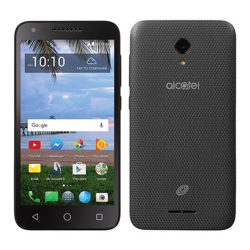 Tracfone Prepaid Alcatel Raven LTE (16 GB) - Black